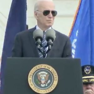 JUST IN: Biden Honors Fallen Heroes At 40th Annual National Peace Officers' Memorial Service