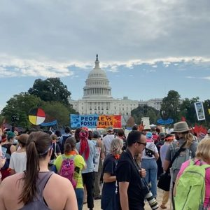 Happening Now: Climate Protesters Convene At Capitol