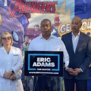 Mayoral Candidate Eric Adams Promotes Equitable Healthcare System