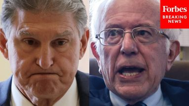 'Keep It Up, Bernie—You're Going To Sink Your Own Bill': Steve Forbes Addresses Sanders-Manchin Feud