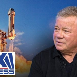 'Star Trek's' Shatner on blasting into space at 90-years old