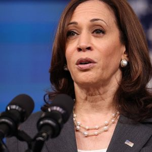 'We Are Confident That We Will Get It Done': Kamala Harris Addresses Infrastructure Bill